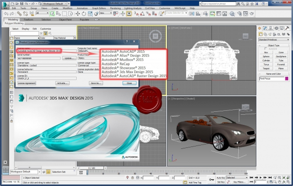 Autodesk AutoCAD Design Suite Ultimate 2015