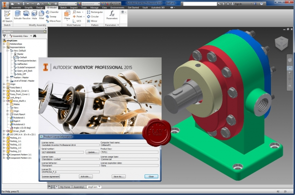 Autodesk Inventor Professional 2015 english