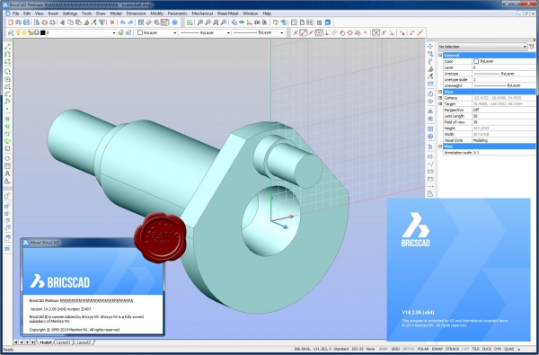 Bricsys Bricscad Platinum v14.2.06.33407 english