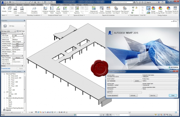 Autodesk Revit 2015 x64 english