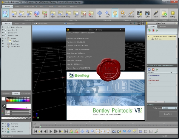 Bentley Pointools V8i 02.00.01.04