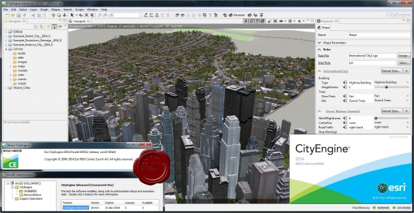ESRI CityEngine v2014.0 build 140522
