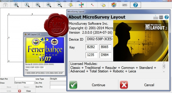 MicroSurvey Layout v2.0.0