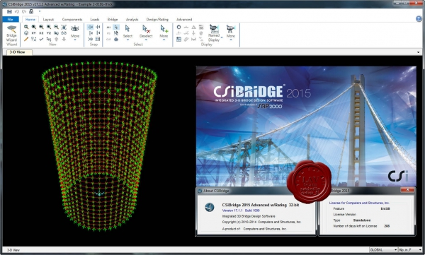 CSI Bridge 2015 v17.1.1.1099
