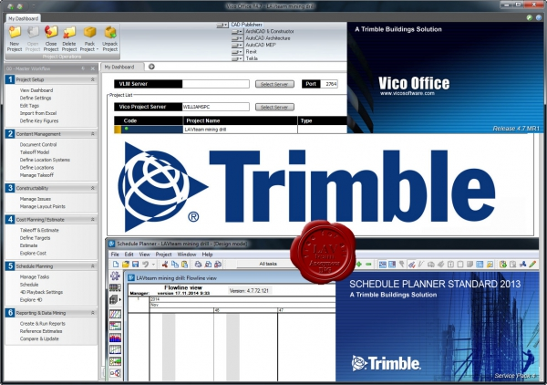 Trimble Vico Office v4.7 MR1