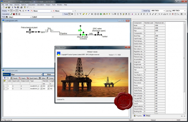Sunrise PIPENET VISION v1.7.1.1020