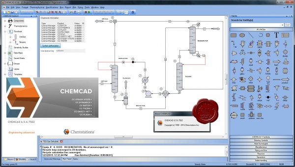 Chemstations CHEMCAD Suite v6.5.6.7502