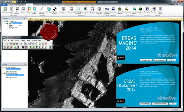 Intergraph ERDAS Foundation/IMAGINE/ER Mapper 2014 v14.0