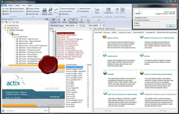 Actix Analyzer v5.1.316.496