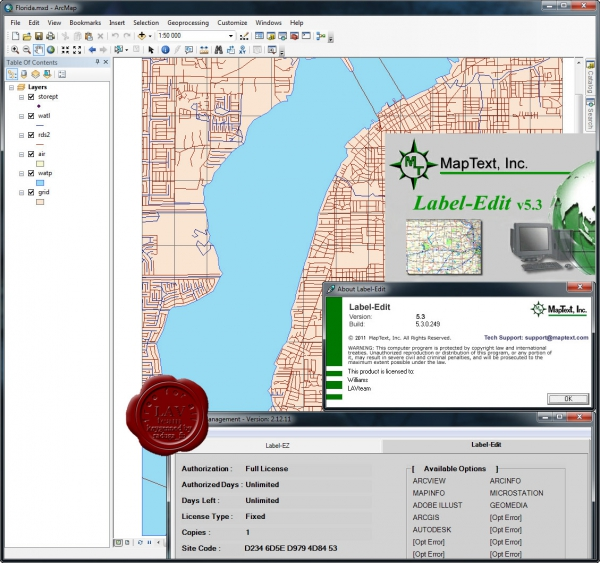 MapText Label-Edit v5.3.0.249