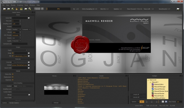 Next Limit Maxwell Render Suite v3.1.0