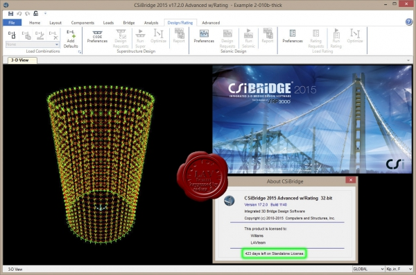CSI Bridge 2015 v17.2.0.1140