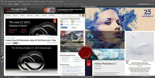 Adobe Photoshop CC 2015 x64 + CameraRaw v9.1