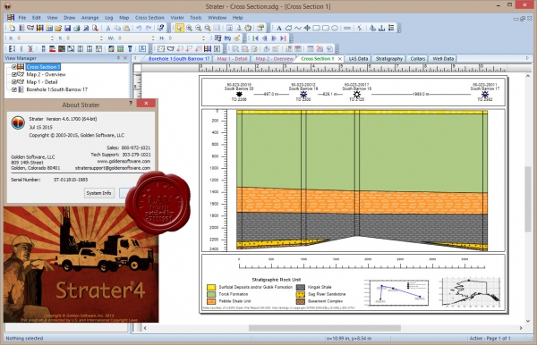 Golden Software Strater v4.6.1700 x86+x64