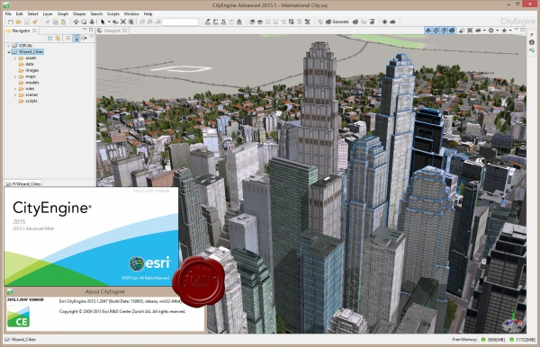ESRI CityEngine Advance 2015.1.2047 x64
