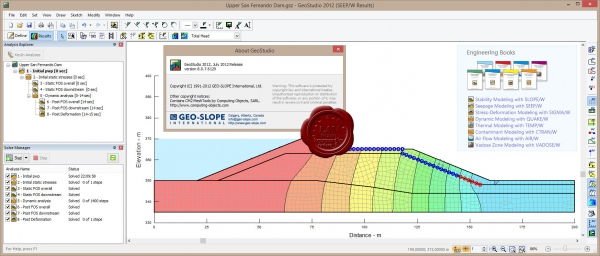 GEO-SLOPE GeoStudio 2012 v8.0.7.6129