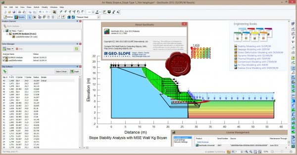 GEO-SLOPE GeoStudio 2012 v8.11.1.7283