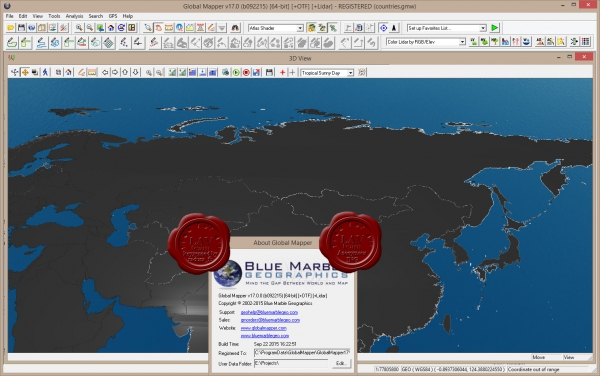 Blue Marble Global Mapper v17.0.092215