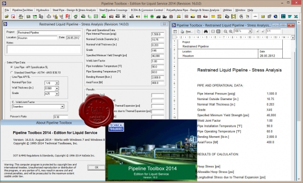 TTI Pipeline Toolbox 2014 v16.0 - Liquid