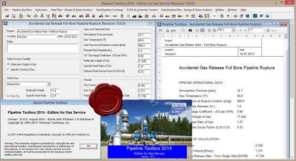 TTI Pipeline Toolbox 2014 v16.0 - Gas
