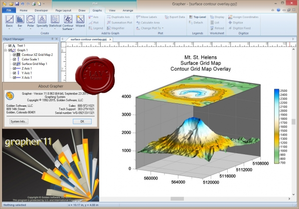 Golden Software Grapher v11.8.863