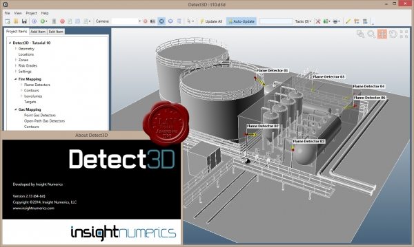 Insight Numerics Detect3D v2.13