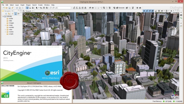 ESRI CityEngine Advance 2015.2.2106.150928