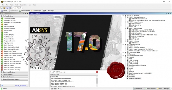ANSYS products v17.0