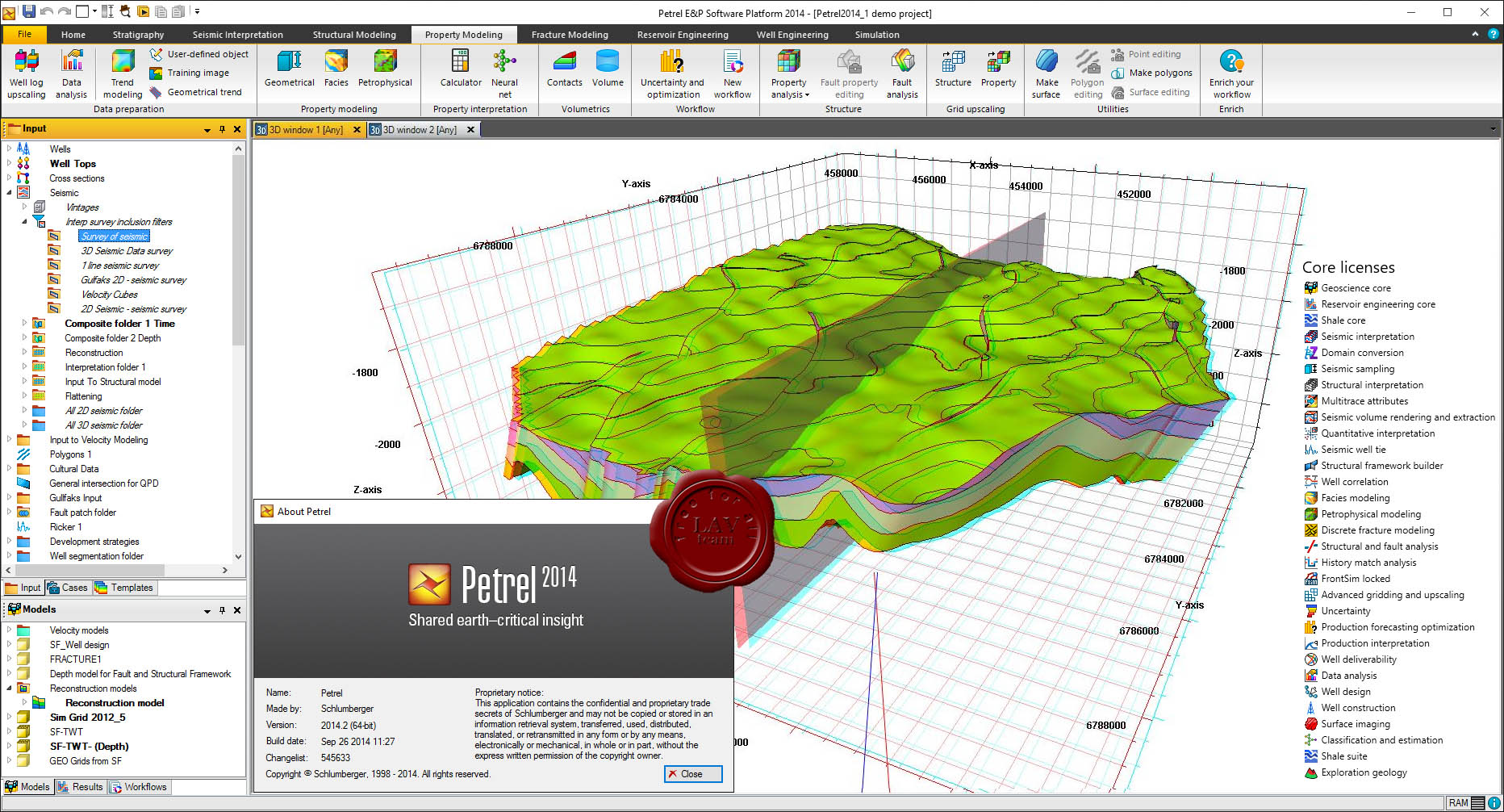 Schlumberger Petrel 2014.2 With Complete License - Software ...