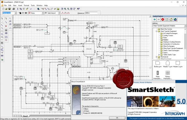 Intergraph SmartSketch v05.00.35.14 SP1