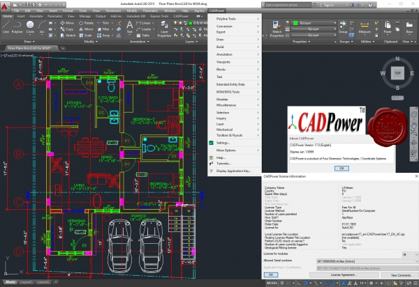 Four Dimension Technologies CADPower v17.0