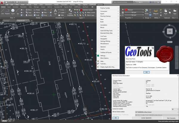 Four Dimension Technologies GeoTools v17.0