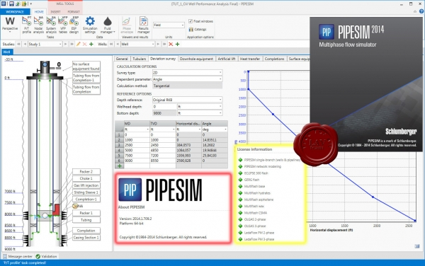 Schlumberger PIPESIM 2014.1 build 709.2