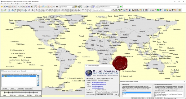 Blue Marble Global Mapper v17.2.1.b052716