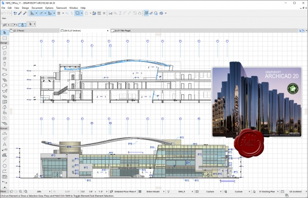 Graphisoft Archicad v20 build 3008 INT addons