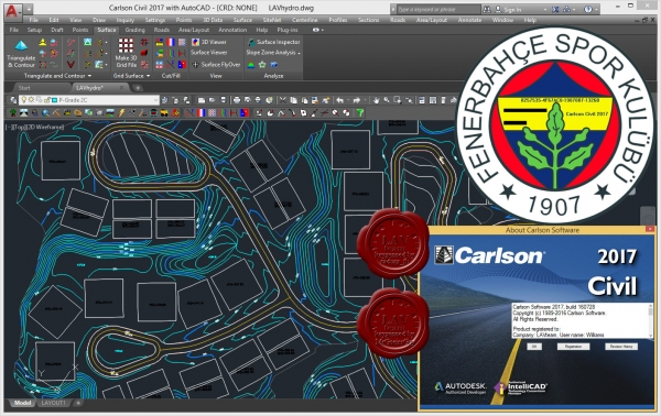 Carlson Civil Suite 2017 build 160728