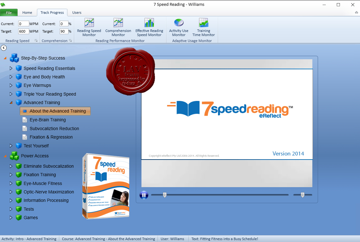 Speed reading software for teens