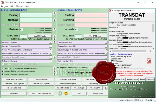 Killetsoft TRANSDAT v19.58