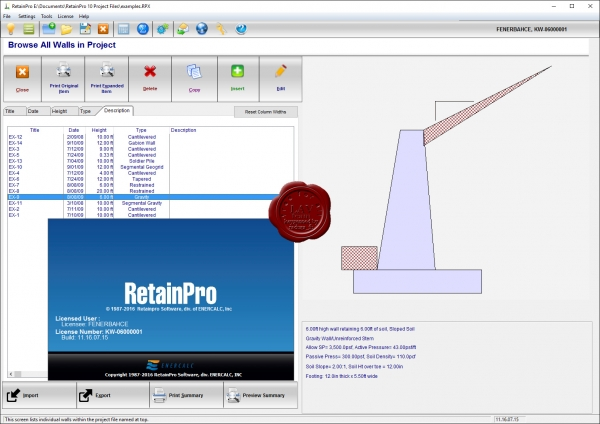 ENERCALC Structural Engineerin Library v6.16.8.31 + RetainPro v11.16.07.15