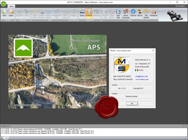 Menci Software APS v8.1.0