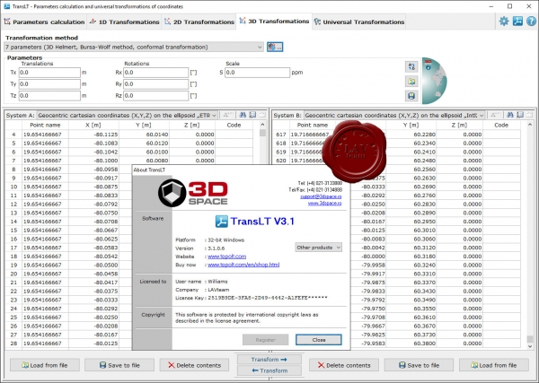 CADware Engineering 3D Space TransLT v3.1.0.6