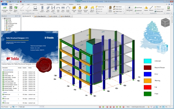 Trimble Tekla Structural Designer 2016 SP2 v16.1.2.85