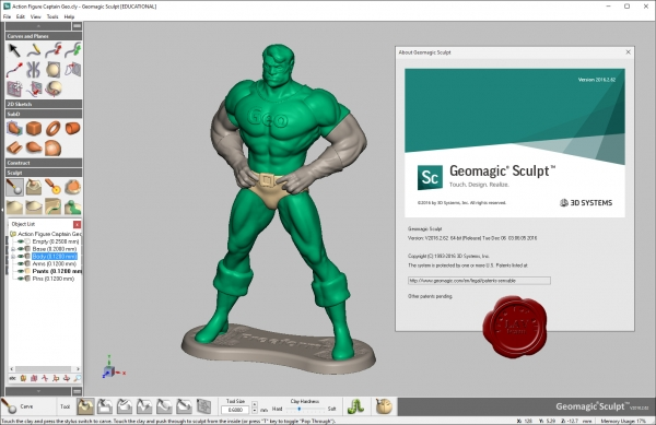 3D Systems Geomagic Sculpt 2016.2.62