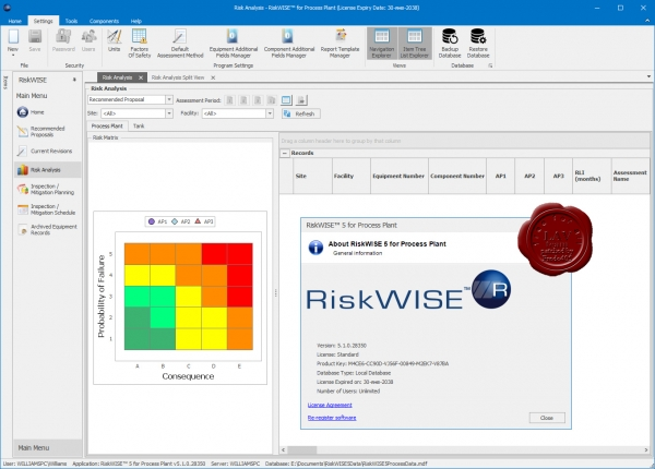 TWI RiskWISE 5 for Process Plant v5.1.0.28350