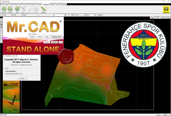 InGeomatics Mr.CAD Stand Alone 3 v3.0 r.104
