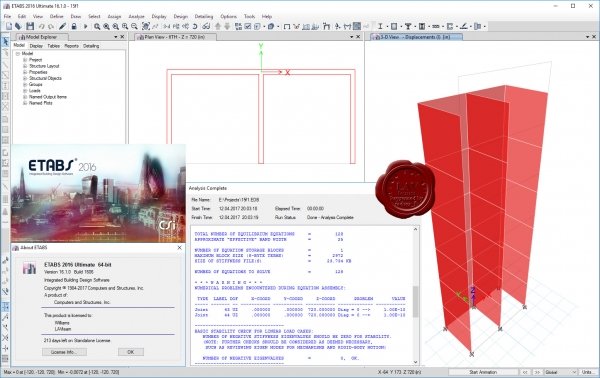 CSI ETABS 2016 v16.1.0 build 1606