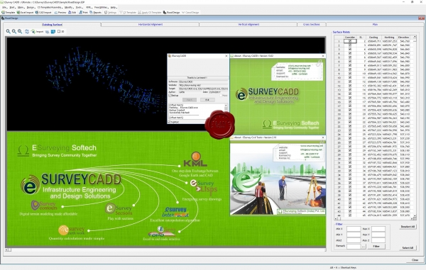 ESurvey CADD v13.02 & Civil Tools v2.10