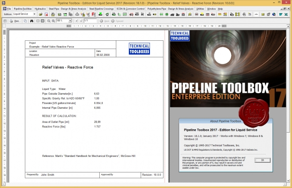 TTI Pipeline Toolbox 2017 v18.1.0 Liquid Edition