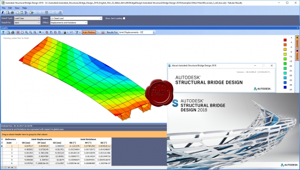 Autodesk Structural Bridge Design 2018