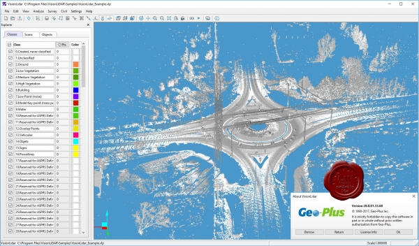 Geo-Plus VisionLidar Ultimate v28.0.01.33.60